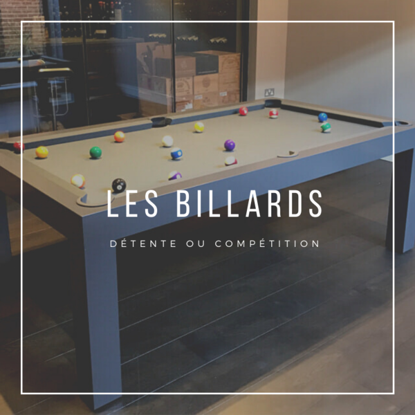 Billard Toulet - Billard collectivités - billards campings - billard libre service
